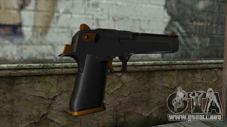 Nitro Desert Eagle para GTA San Andreas segunda pantalla