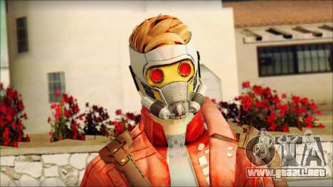 Guardians of the Galaxy Star Lord v2 para GTA San Andreas tercera pantalla