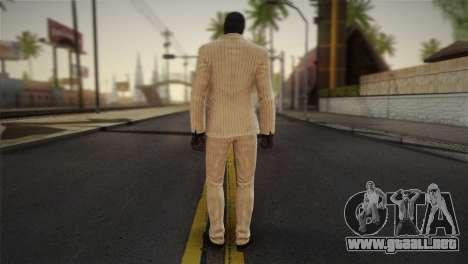 Black Mask para GTA San Andreas segunda pantalla
