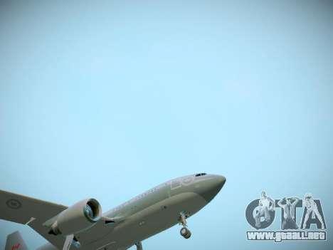 Canadian Forces Airbus CC150 Polaris para vista inferior GTA San Andreas