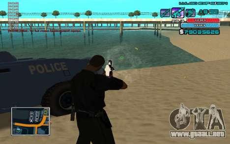 C-HUD por WH editado Mr_Zlo para GTA San Andreas tercera pantalla