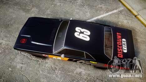 Dodge Challenger 1971 v2.2 PJ8 para GTA 4 visión correcta
