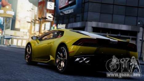 Lamborghini Huracan LP610-2 Valentino Balboni para GTA 4 visión correcta