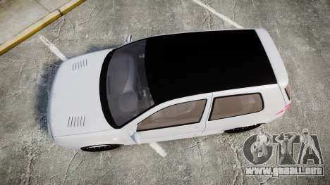 Volkswagen Golf Mk4 R32 Wheel2 para GTA 4 visión correcta