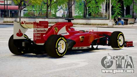 Ferrari F138 v2 para GTA 4 visión correcta