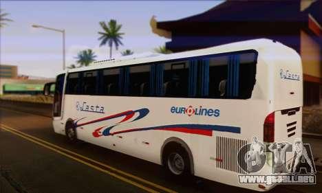 Volvo Lasta Bus para GTA San Andreas left