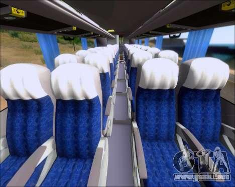 Busscar Elegance 360 Viacao Nordeste 8070 para vista inferior GTA San Andreas