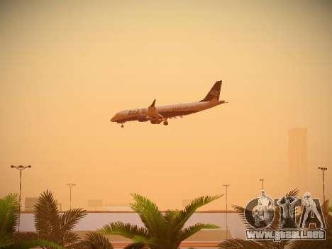 Embraer E190 Azul Brazilian Airlines para visión interna GTA San Andreas
