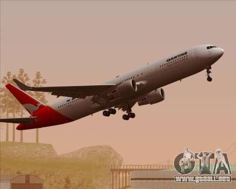 Boeing 767-300ER Qantas para GTA San Andreas