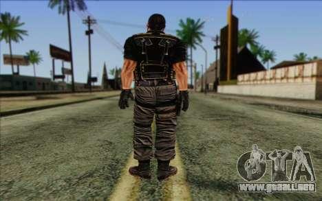 Los soldados de la Rogue Warrior 1 para GTA San Andreas segunda pantalla