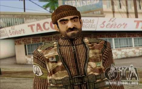 Soldados de MEK (Battlefield 2) de la Piel 2 para GTA San Andreas tercera pantalla