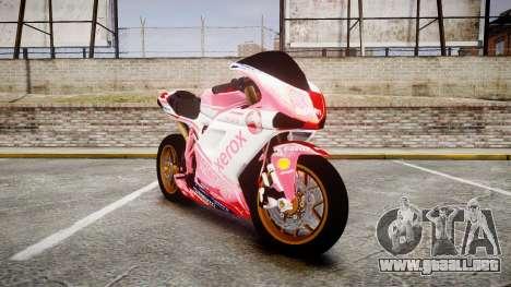 Ducati 1198 R para GTA 4