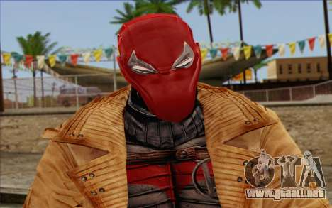 Red Hood from DC Comics para GTA San Andreas tercera pantalla