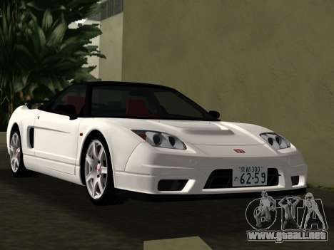 Honda NSX-R para GTA Vice City vista superior