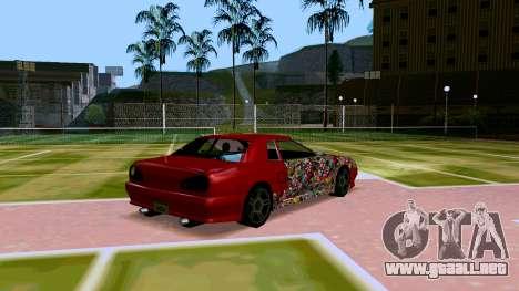 Elegy OnDrift para la visión correcta GTA San Andreas