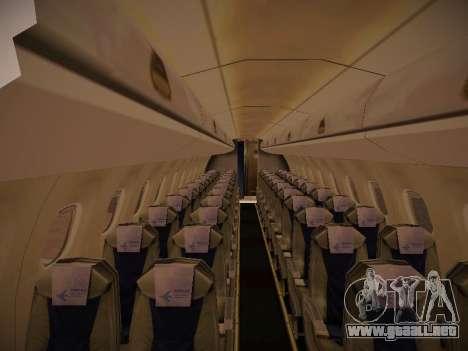 Embraer E190 Azul Brazilian Airlines para vista inferior GTA San Andreas