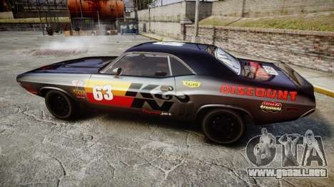 Dodge Challenger 1971 v2.2 PJ8 para GTA 4 left