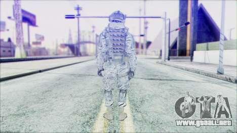 Ranger (CoD: MW2) v2 para GTA San Andreas segunda pantalla