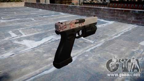 Pistola Glock 20 cereza blososm para GTA 4 segundos de pantalla