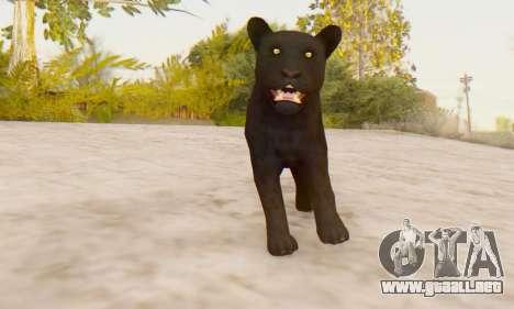 Black Panther (Mammal) para GTA San Andreas tercera pantalla