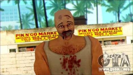 Manhunt Ped 8 para GTA San Andreas tercera pantalla