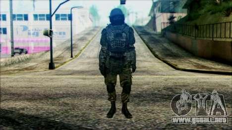 Los soldados aerotransportados (CoD: MW2) v3 para GTA San Andreas
