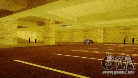 Nuevas texturas de Aparcamiento en la LSPD para GTA San Andreas quinta pantalla
