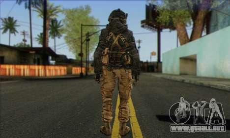 Task Force 141 (CoD: MW 2) Skin 16 para GTA San Andreas segunda pantalla