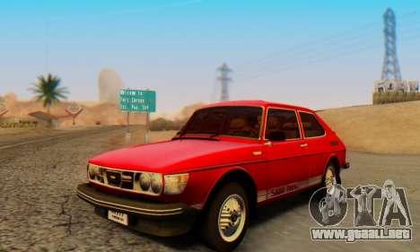 Saab 99 Turbo 1978 para GTA San Andreas