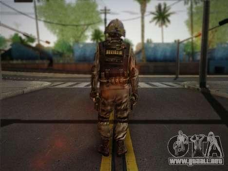 Боец СВР (Tom Clancy Splinter Cell) v1 para GTA San Andreas segunda pantalla