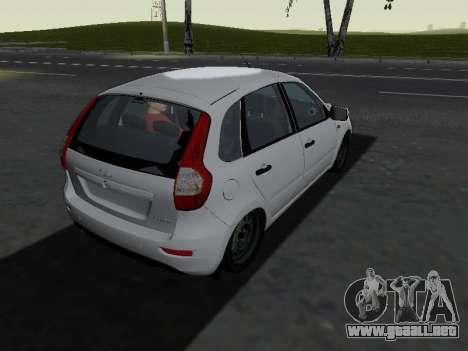 Lada Kalina 2 para la visión correcta GTA San Andreas