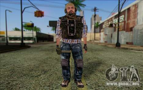 Tanny from ArmA II: PMC para GTA San Andreas