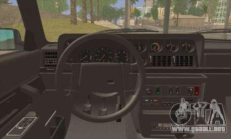 Volvo 242 Stance Works para GTA San Andreas vista posterior izquierda