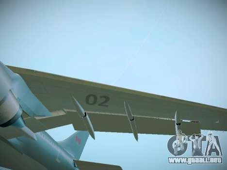 Canadian Forces Airbus CC150 Polaris para visión interna GTA San Andreas