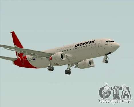 Boeing 737-838 Qantas para GTA San Andreas left