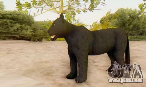 Black Panther (Mammal) para GTA San Andreas sucesivamente de pantalla