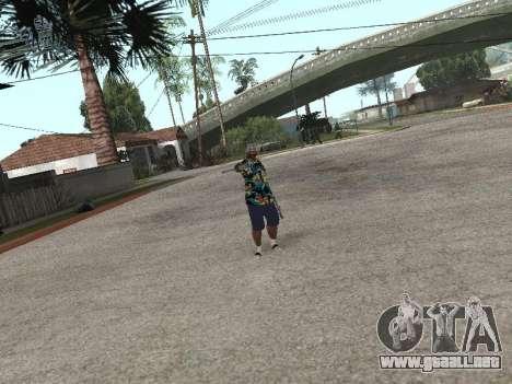 Pose gangster para GTA San Andreas quinta pantalla