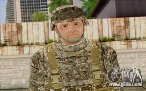 Soldados del Ejército de los estados UNIDOS (Arm para GTA San Andreas tercera pantalla