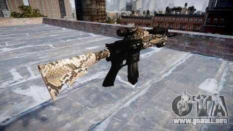 Automatic rifle Colt M4A1 viper para GTA 4 segundos de pantalla