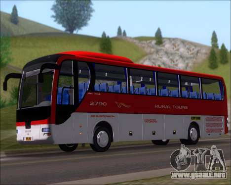 MAN Lion Coach Rural Tours 2790 para GTA San Andreas left