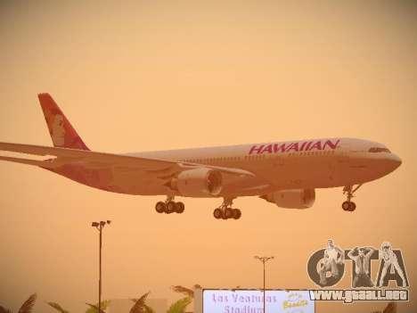 Airbus A330-200 Hawaiian Airlines para las ruedas de GTA San Andreas