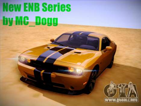 Nueva ENBSeries por MC_Dogg para GTA San Andreas