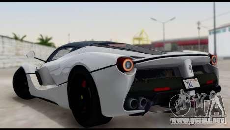 Ferrari LaFerrari 2014 (HQLM) para GTA San Andreas left