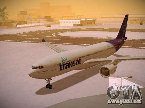 Airbus A330-200 Air Transat para GTA San Andreas left