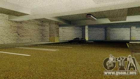Nuevas texturas de Aparcamiento en la LSPD para GTA San Andreas segunda pantalla