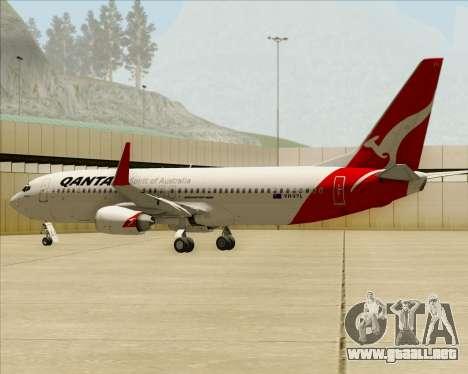 Boeing 737-838 Qantas para el motor de GTA San Andreas