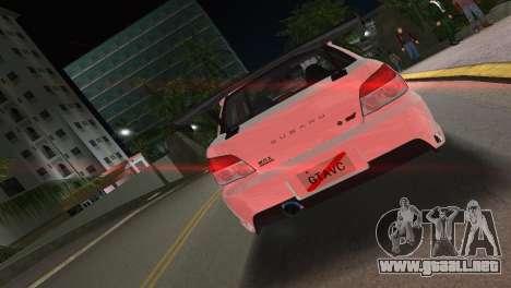 Subaru Impreza WRX STI 2006 Type 3 para GTA Vice City vista lateral izquierdo