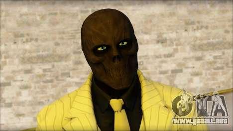 Black Mask From Batman: Arkham Origins para GTA San Andreas tercera pantalla