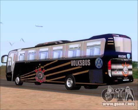Busscar Vissta Buss LO Faleca para GTA San Andreas vista posterior izquierda