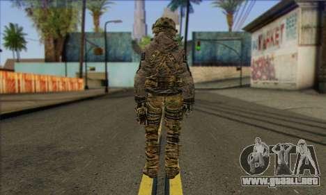 Task Force 141 (CoD: MW 2) Skin 7 para GTA San Andreas segunda pantalla